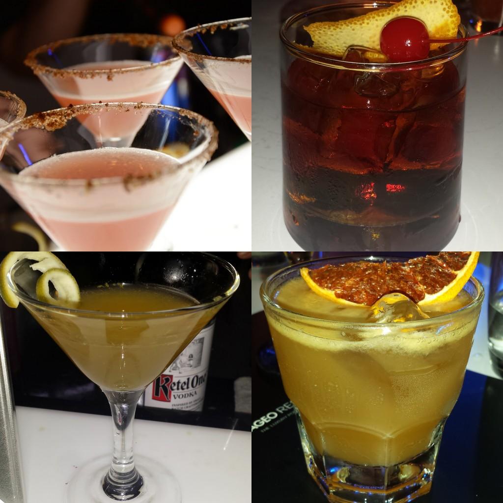 Diageo World Class 2015 drinks