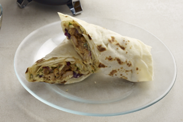 Chicken BBQ Wrap2