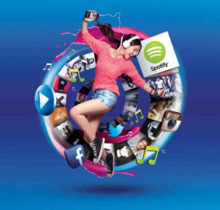 Globe customers get free access to Spotify for every GoSURF subscription