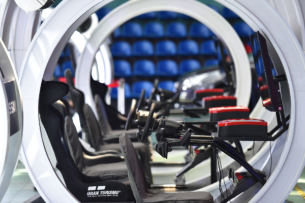Nissan GT Academy Pods