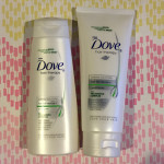 Dove Hair Therapy shampoo and conditioner