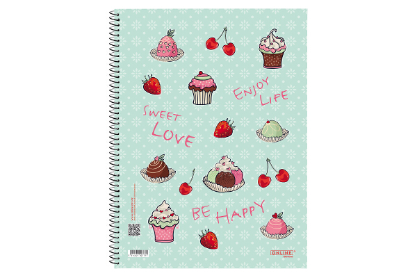 Collegeblock Sweet Love notebook