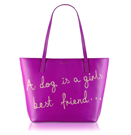 Best Friend Large Ziptop Tote in Azalea