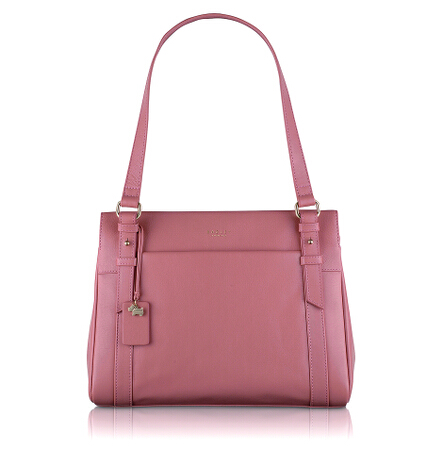 Chelsea Medium Ziptop Shoulder Bag in Old Rose