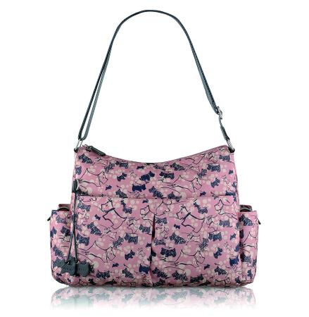Cherry Blossom Dog Large Baby Bag Crossbody
