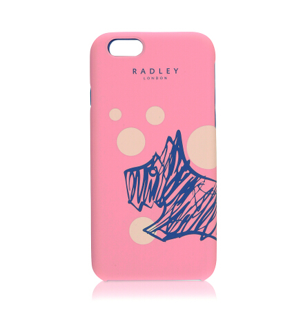 Cherry Blossom Dog iPhone Case