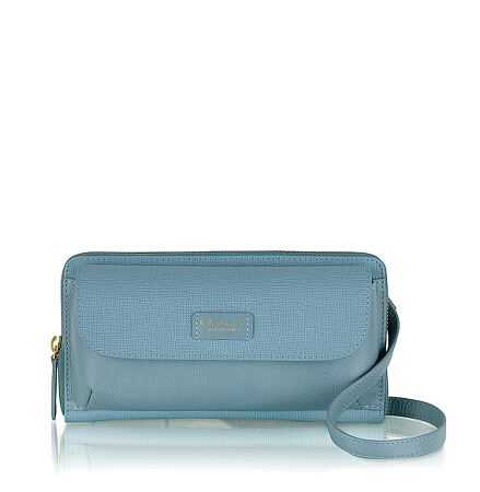 Columbia Road Small Ziptop Crossbody in Lake