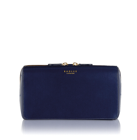 Keats Grove Medium Ziptop Clutch in Summer Fig