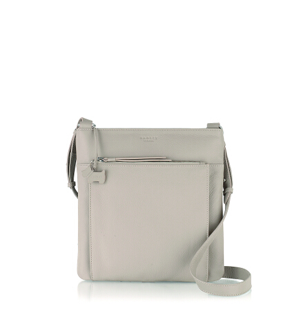 Richmond Large Ziptop Crossbody in Plaster