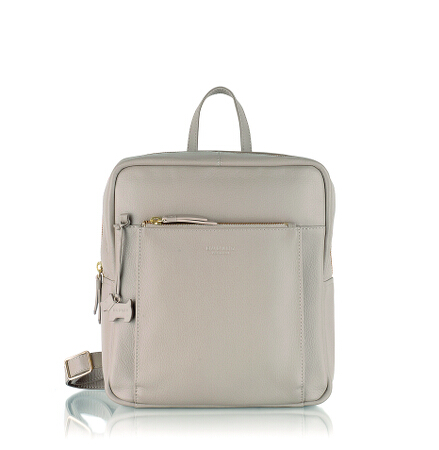 Richmond Small Ziptop Backpack in Plaster