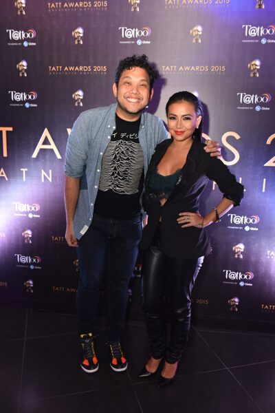 Tatt Council member Quark Henares and Jacq Yu