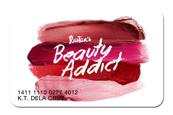1 - Rustan's Beauty Addict Membership Card