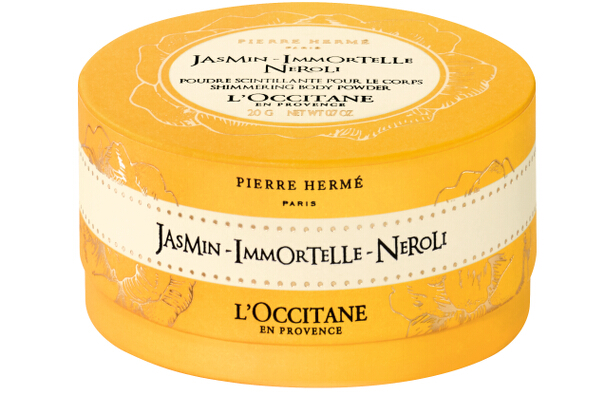 14. L'Occitane Jasmin Immortelle Shimmering Body Powder