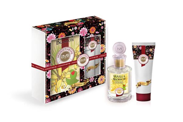 21. Monotheme Vanilla Blossom gift sets