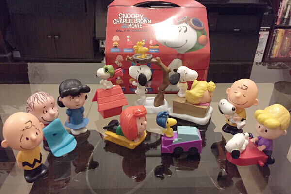 40b1740185 Snoopy and other Peanuts characters as McDonald s Happy Meal toys ...