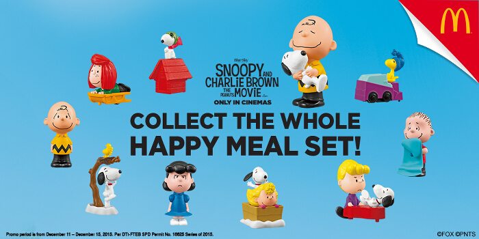 Snoopy & Charlie Brown Happy Meal 1