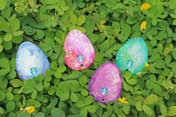 Starbucks Easter Egg Cards