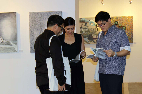 Aga Muhlach, Charlene Gonzales-Muhlach, and Rowell Santiago