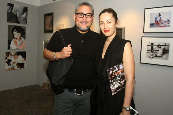 Rajo Laurel and Teresa Herrera