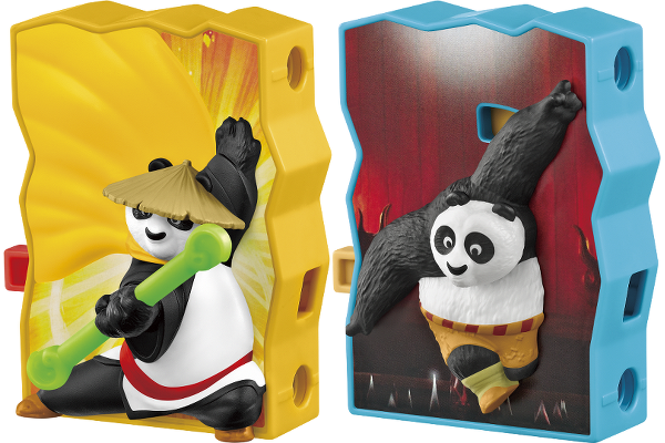 McDo Happy Meal Kung Fu Panda 3