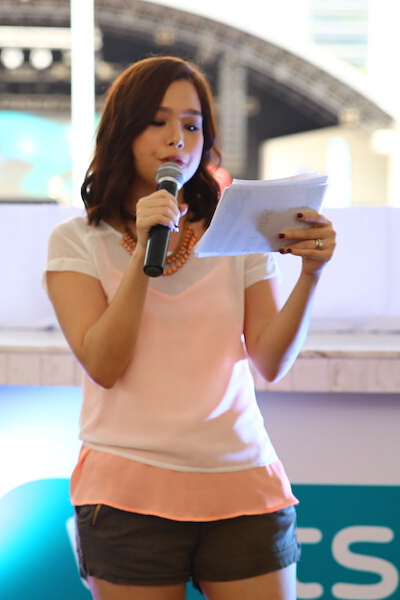 Saab Magalona hosted the event.