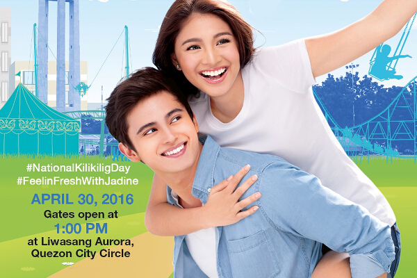 JaDine for National Kili-Kilig Day