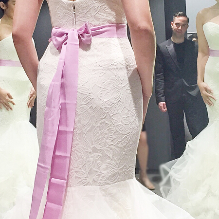 Trixie\'s Wedding Preps   What it\'s like to fit a Vera Wang gown ...