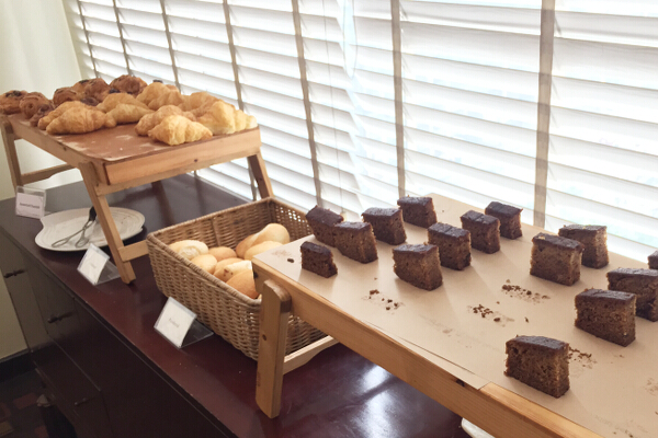 Pastries section