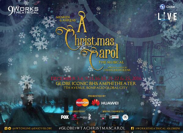 A Christmas Carol poster landscape