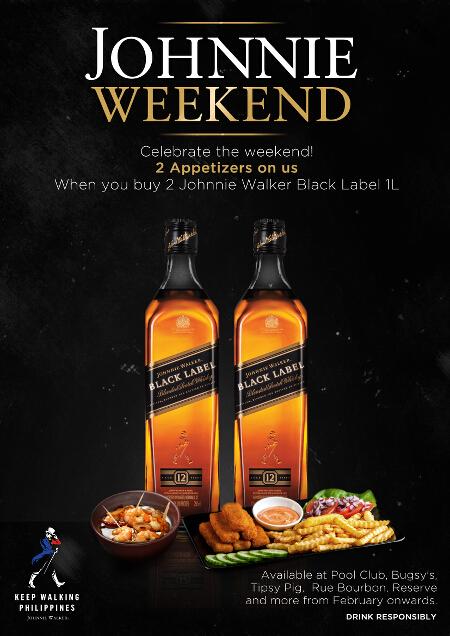 Johnnie Walker Black Label Whisky Weekends