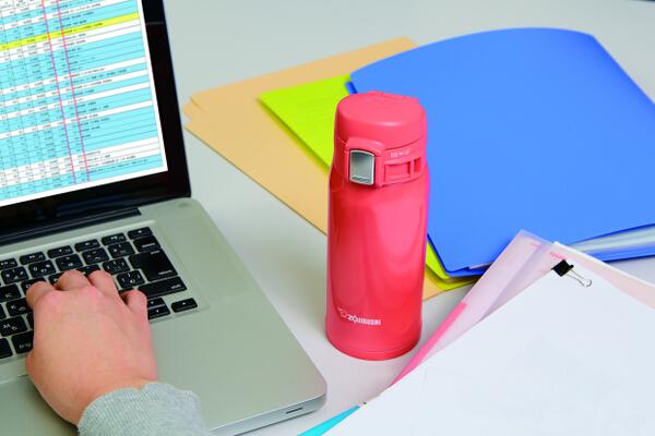 Tumbler on desk 1