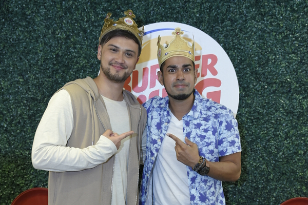 Billy Crawford and Sam YG