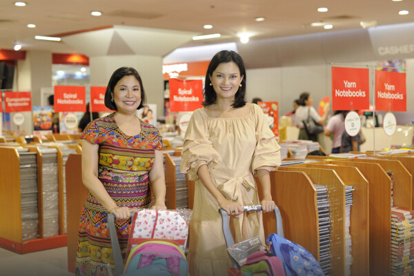 Main Photo.National Bookstore                             Managing Director Xandra Ramos-Pasilla and  Daphne                      Osena-Paez_full