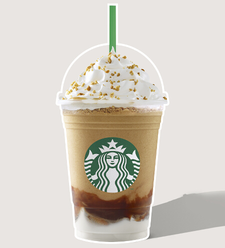 Roasted Marshmallow Smores Frappuccino
