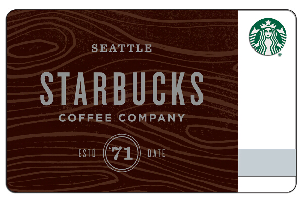 Starbucks Woodmark Card