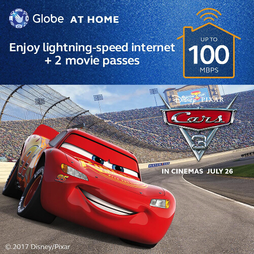 Globe At Home x Car3 Promo 1