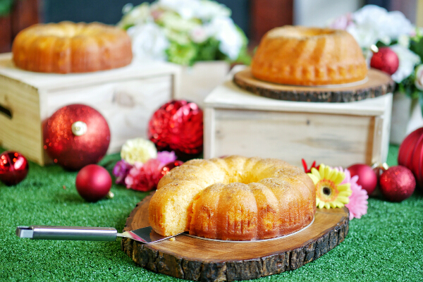 Rum Butter Cake by Rhea  Castro-Sycip of Flour Pot