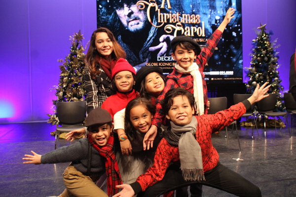 The Kids of A Christmas Carol