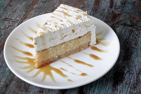 Cheesecake - Dulce de Leche
