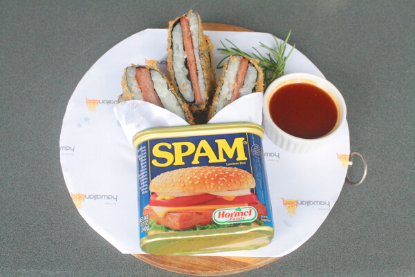 Crispy Spam Musubi