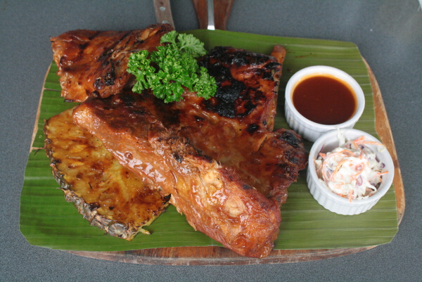Hawaiian BBQ Baby Back Ribs