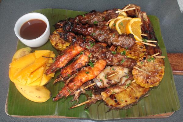 Hawaiian BBQ Platter