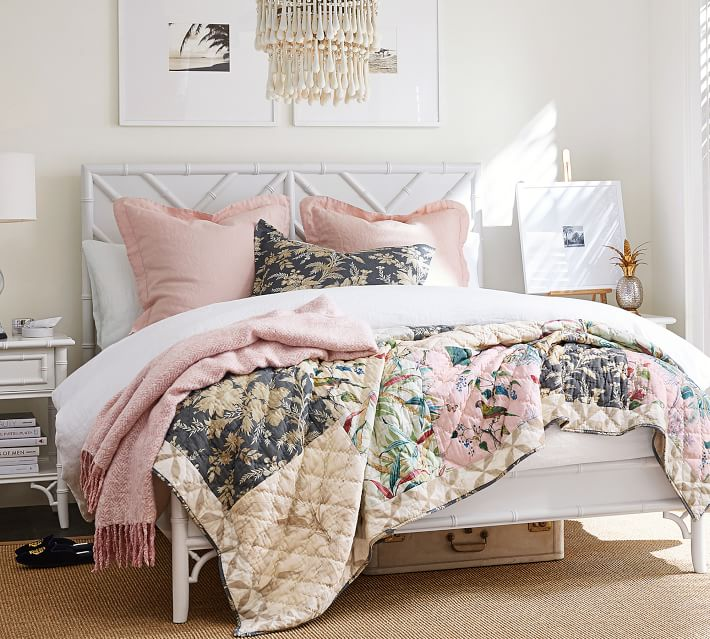15. Pottery Barn, June Bed, P74,500 (King), P64,500 (Queen)
