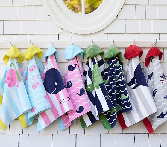 16. Pottery Barn Kids, Towel Wraps, P1,450 (ea)
