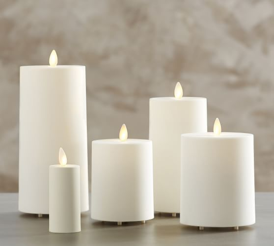 23. Pottery Barn,  Flameless  Candle, Assorted
