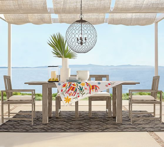26. Pottery Barn, Indio Collection, Dining Table P59,500, Side Chair P8,950 (ea) (1)