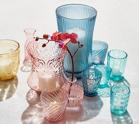29. Pottery Barn, Vintage Hurricane Glass, P495 (S), P695 (M), P895 (L)
