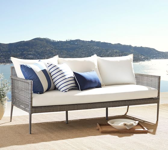 4. Pottery Barn, Cammeray All Weather Wicker Sofa P79,500