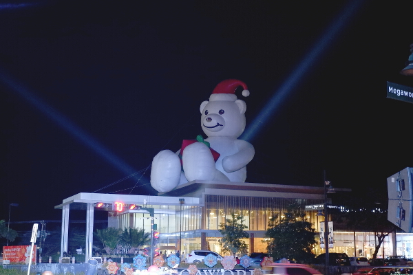Christmas Bear Megaworld