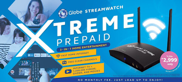 Globe Streamwatch Xtreme Prepaid KV